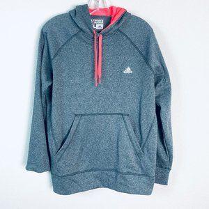 ADIDAS womens sz XL Gray ultimate hoodie